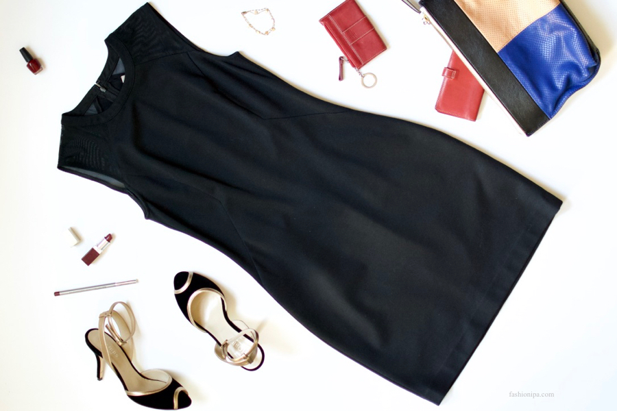 Date Night Little Black Dress + Red Accessories