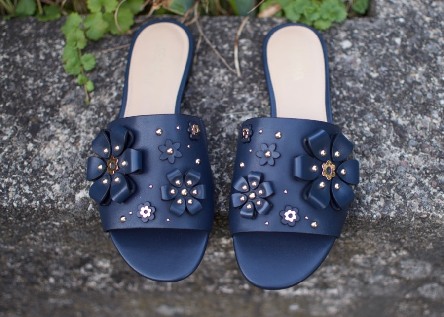 Michael Kors Floral Applique Flats
