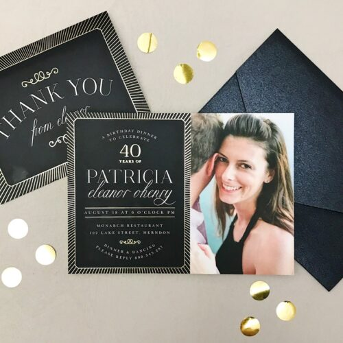 Party Invitations For Unforgettable Events