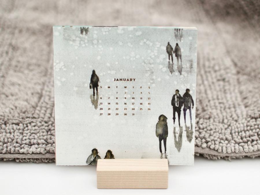 January 2019 Minted Calendar