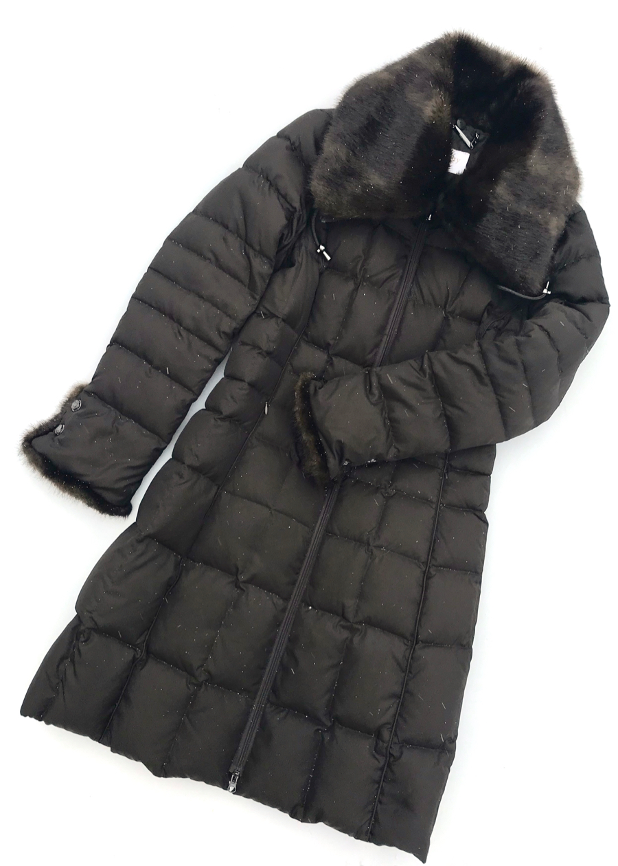 The Puffer Coat: Laundry By Shelli Segal Fur-trimmed Puffer Coat