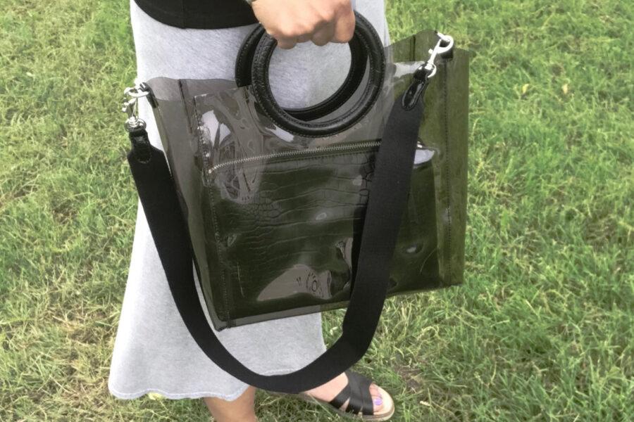 The Transparent Bag Trend