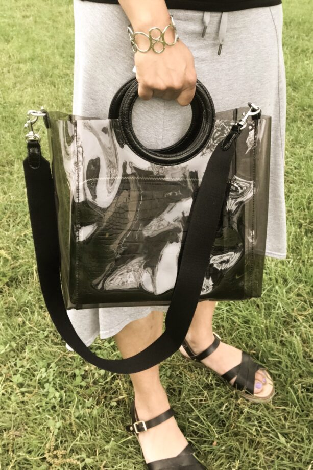 BR Transparent Bag Smoke & Black