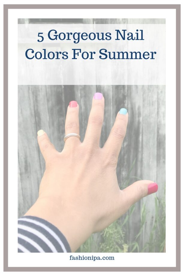 Summer Nail Colors: fashionipa.com