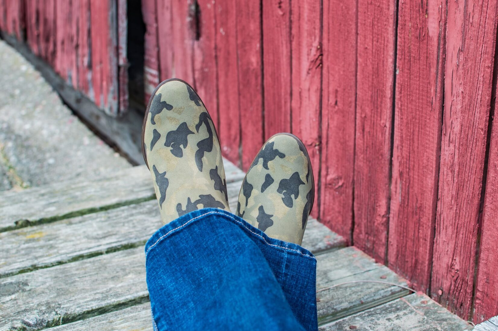 Fall Pre-Season Purchases: Lucky Brand Camo Booties