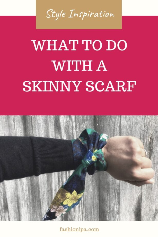 What To Do With A Skinny Scarf