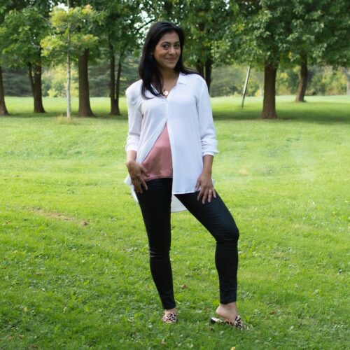 1 White Silk Blouse, 3.5 Ways To Wear It
