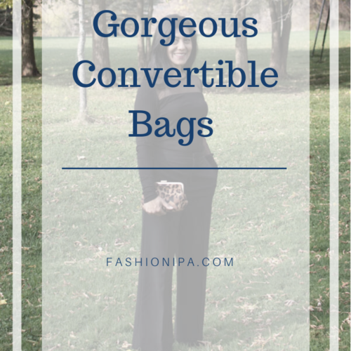 Gorgeous Convertible Bags For Party Season