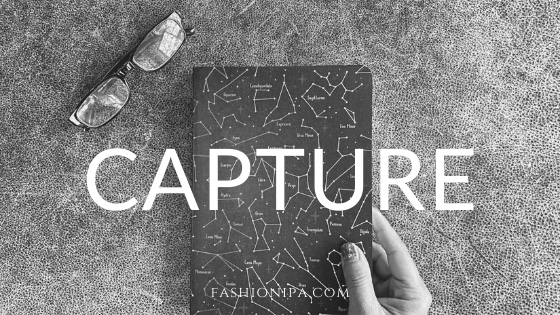 The word capture: my New Year's resolution.