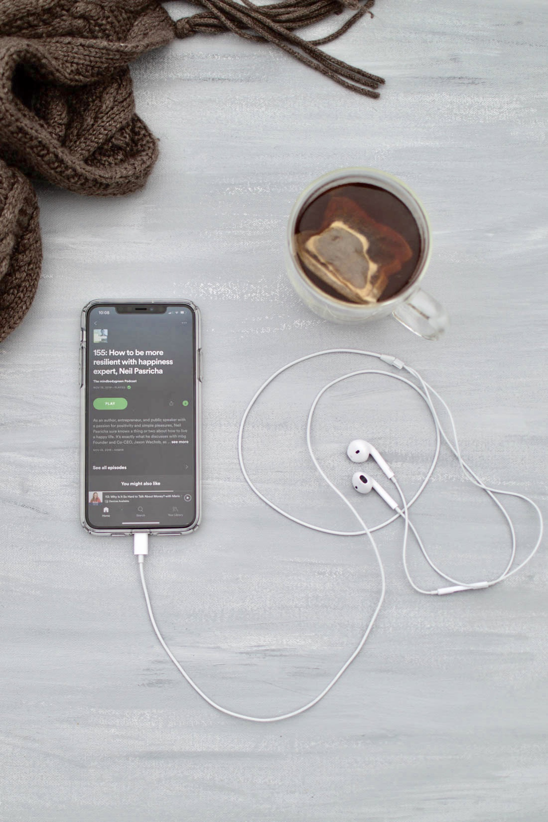 7 Ways To Ease The Winter Blues: Podcasts